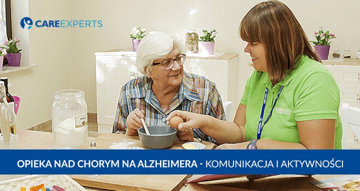 opieka nad chorym na Alzheimera